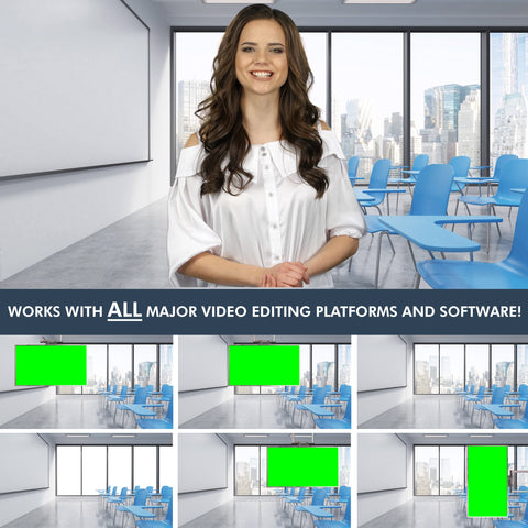 The Classroom Virtual Set Mega Pack