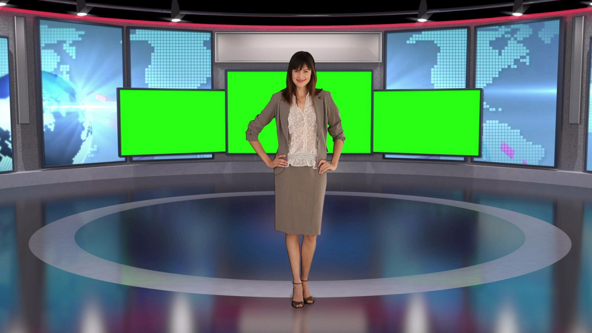 Contemporary News Studio HD