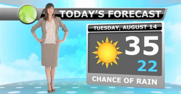 Free Teacher Weather Forecast / Motion Graphics Lesson Plan - 1