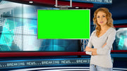 BONUS - Global News Virtual Studio Set - Virtual Set Lab