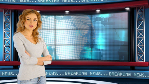 Global News Virtual Studio Set [All Angles 1 - 4]