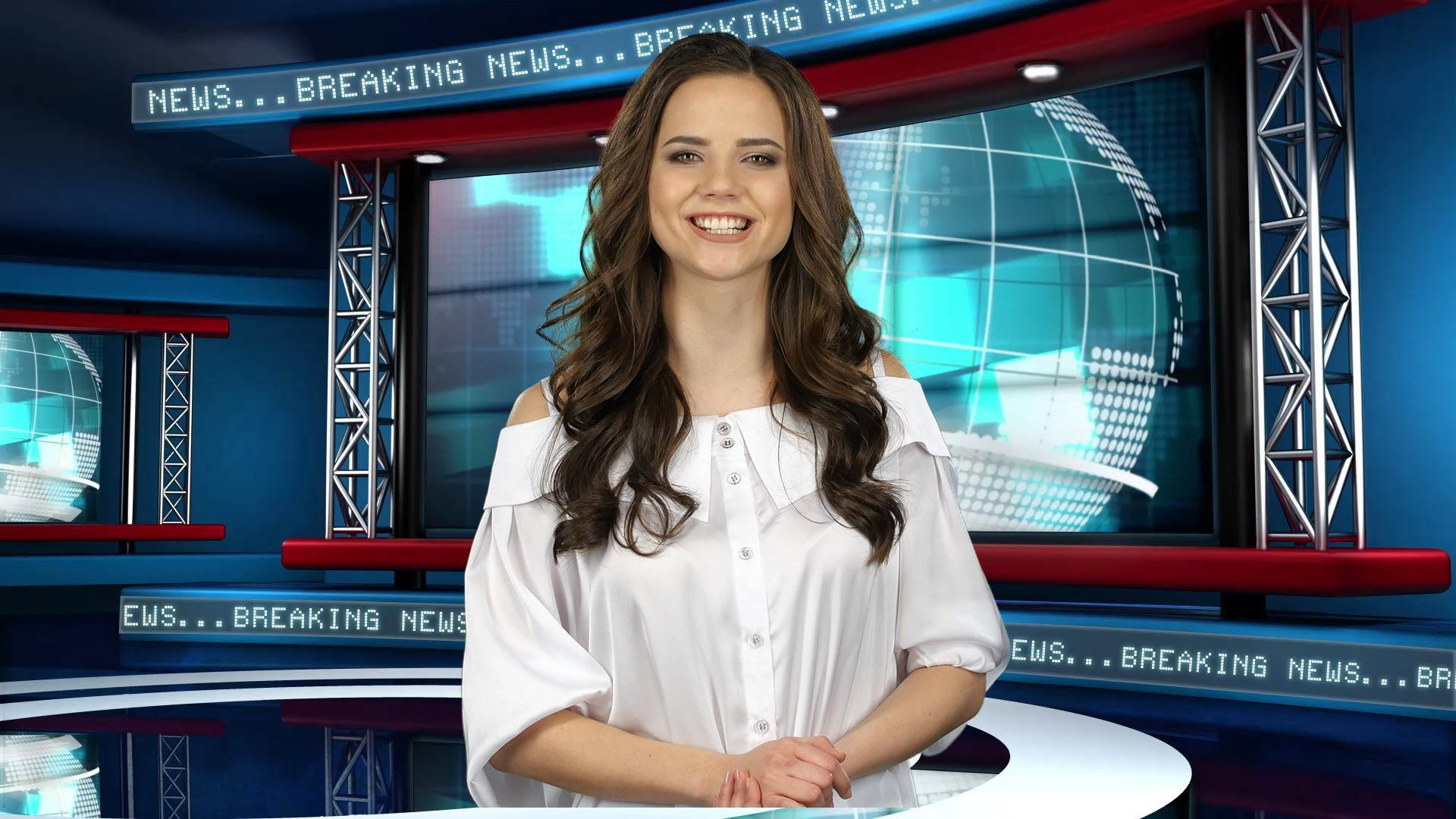 Global News Virtual Studio Set Free Demo [FREE DEMO]