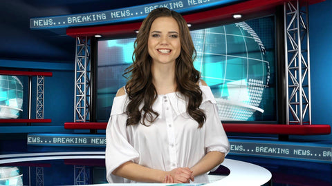 Global News Virtual Studio Set [ANGLE 1]
