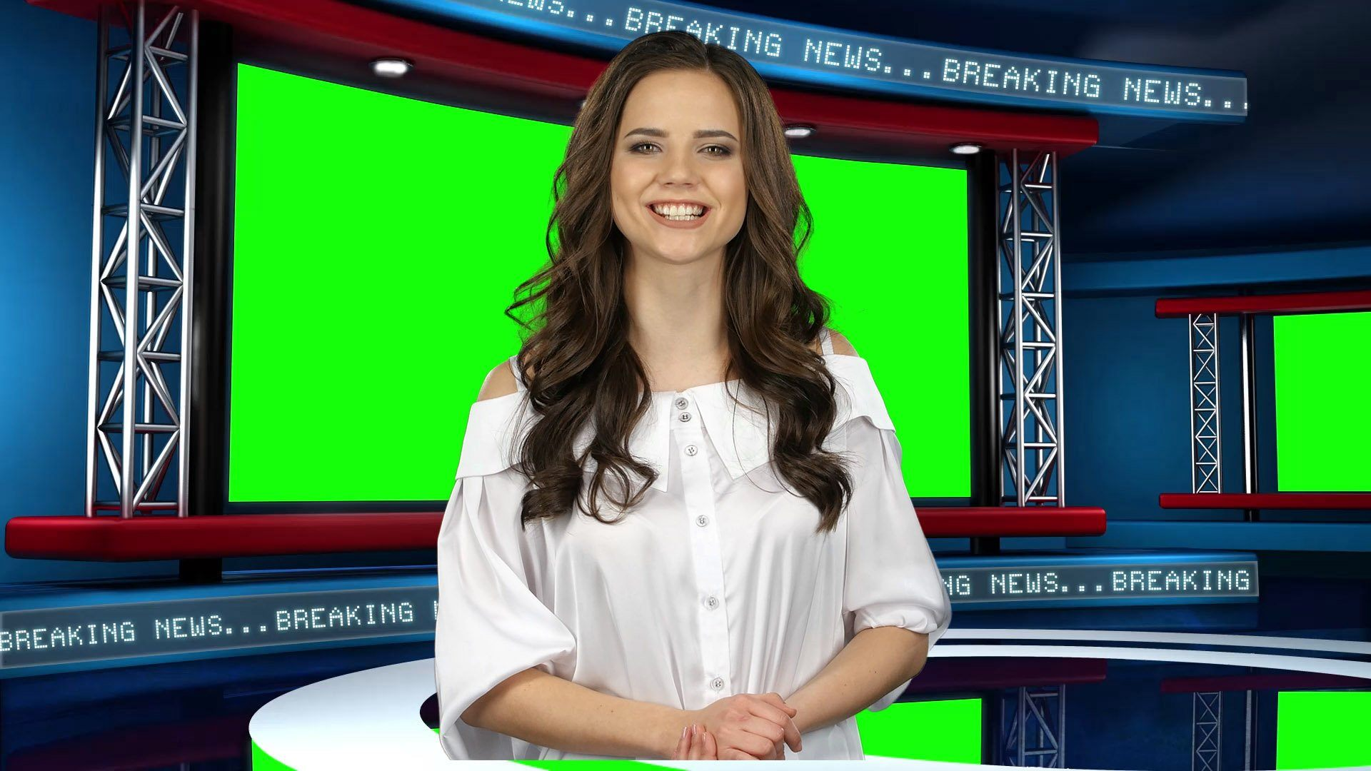 Global News Virtual Studio Set [ANGLE 4]