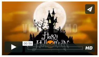 Halloween 1 After Effects Template
