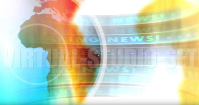 Breaking News Motion Background - Virtual Set Lab