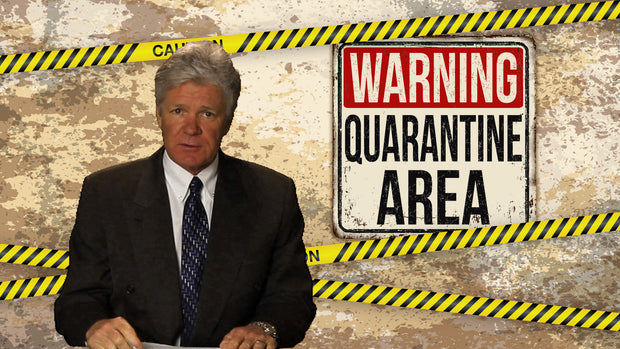 Quarantine Zoom / Online Meeting Virtual Background - Virtual Set Lab