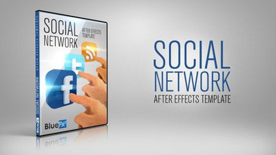 Social Network After Effects Template by BlueFX - Virtual Set Lab