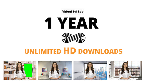 NEW! -  1 Year HD & 4K Unlimited Download Access - $30 per month