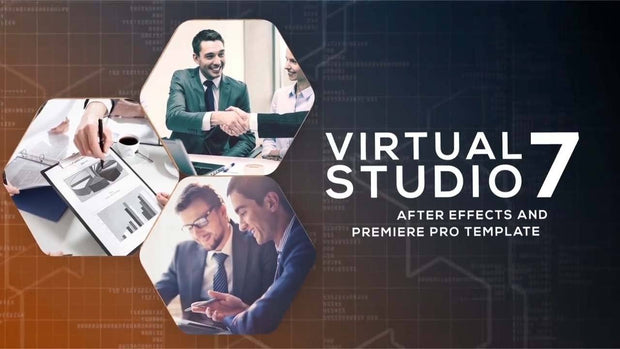 BFX Virtual News Set 7 for After Effects and Premiere Pro