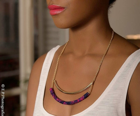 Collier Two Row Necklace