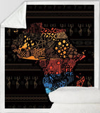 Africa Throw - Black