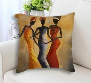 African Women Pillow