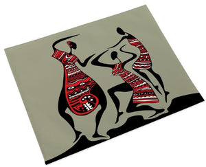 African Dancers Place Mats (Set of 4)