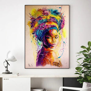 Beautiful Flower Canvas (Unframed)