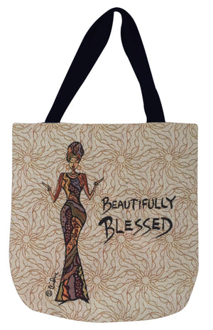 Beautifully Blessed Tote Bag