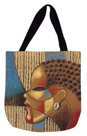 Composite of a Woman Tote Bag