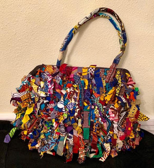 Multi-Colored Rag Bag