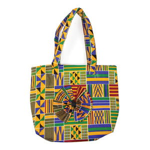 Kente Bow Bag