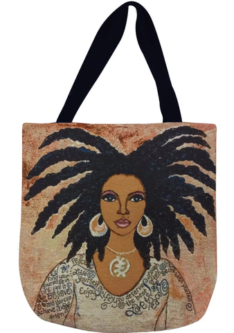Nubian Queen Tote Bag (Deluxe)