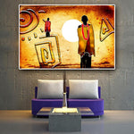 Our Ancestors Are Watching - Canvas (Unframed)