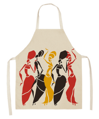 Tribal Dancers Cooking Apron - Women