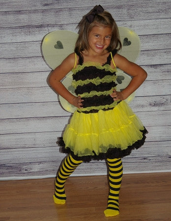Bumble Bee Pettiskirt Dress (DRESS ONLY) - Gabskia