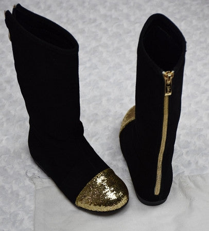 The Bella Tall Boots - Black - Gabskia