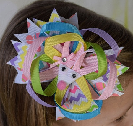 Easter Sculptured 6in Boutique Bow - Gabskia