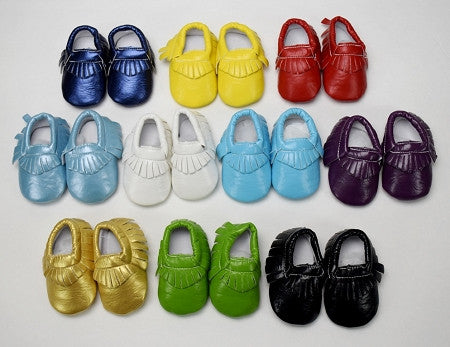 Sandal Style Baby Moccasin (More Colors)