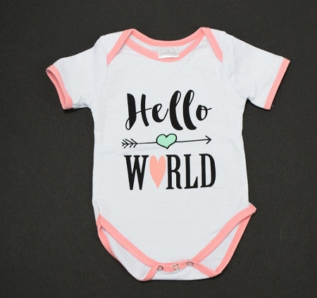 """Hello World"" Onesie - Gabskia"