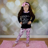 The Spirit of a Mermaid 2pc Hoodie and Leggings Outfit (up to size 14) - Gabskia