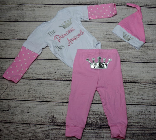 The Princess Has Arrived 3pc Outfit - Gabskia