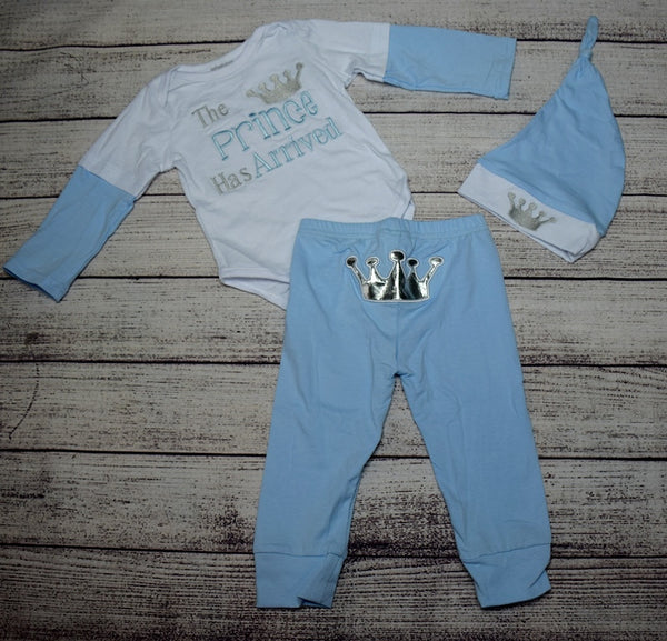 The Prince Has Arrived 3pc Outfit - Gabskia