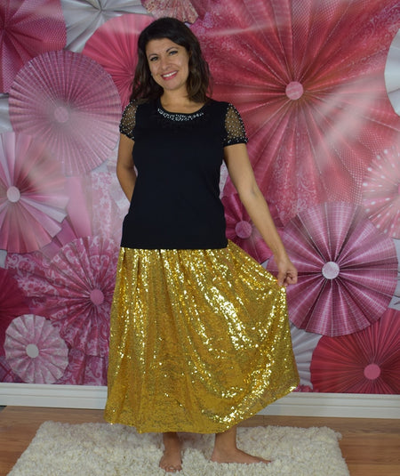 The Goldie 2pc Skirt Set