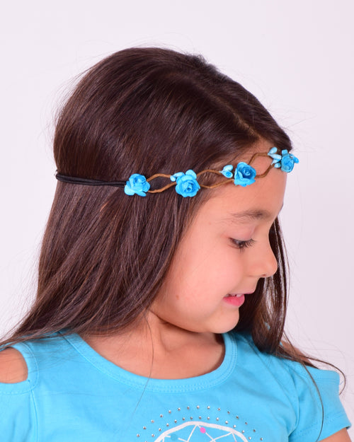 Mini Flower Crown Headband (More Colors) - Gabskia