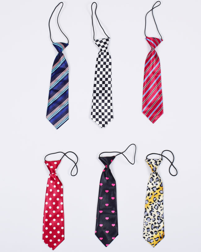 Satin Knotted Ties (14 patterns to choose)