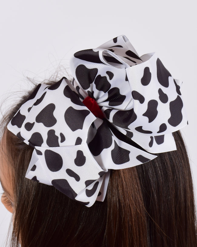 Double Loop 8in Printed Bows