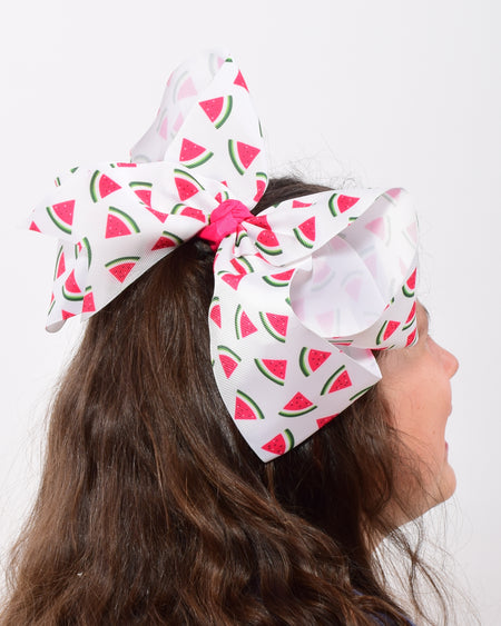 Happy Easter  6in Pink Marabou Boutique Bow