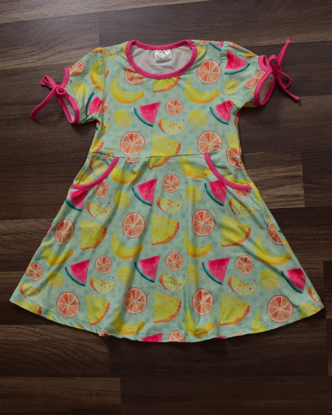 Fruity Summer Dress