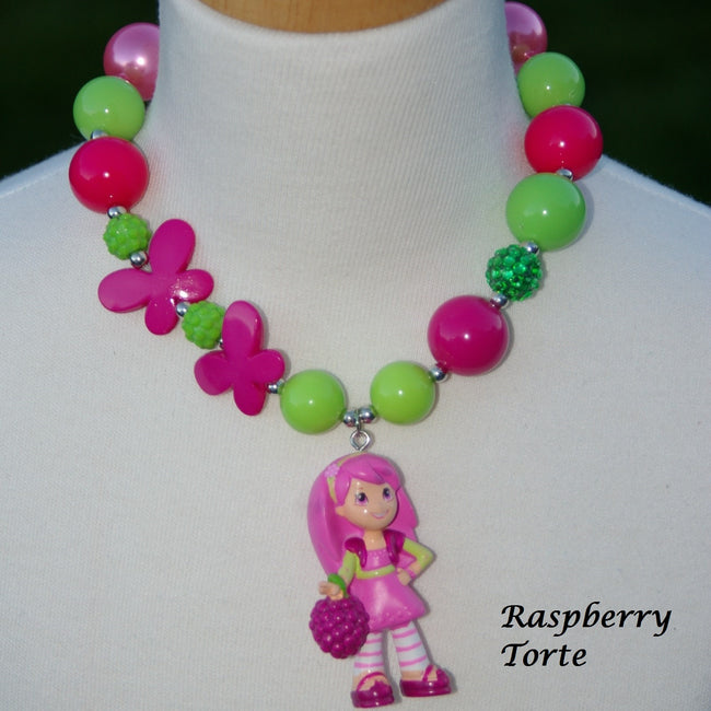Strawberry Shortcake Characters Chunky Necklace (8 options)