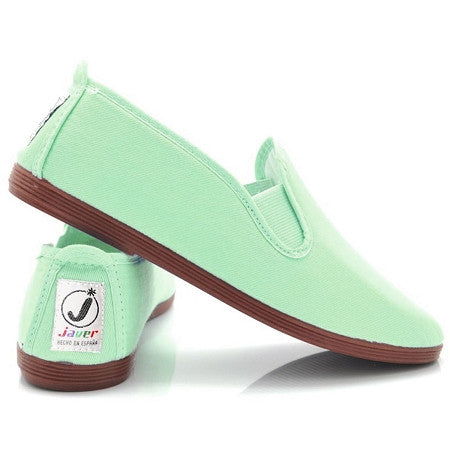 Javer/Flossy Canvas Shoes Adult - Mint