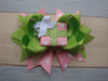 Pink Christmas Gift 5.5in Boutique Bow - Gabskia