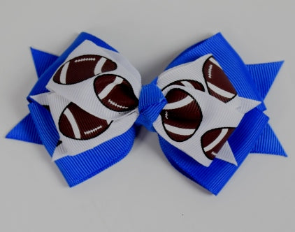 3.5 - 4in Football Bows - Gabskia
