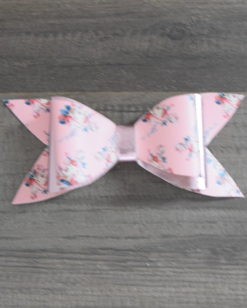 6in Faux Leather Bows - Gabskia
