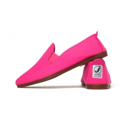 Javer/Flossy Canvas Shoes Kids - Hot Pink