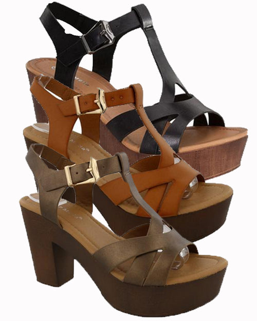 Becca Ladies Sandals - Gabskia