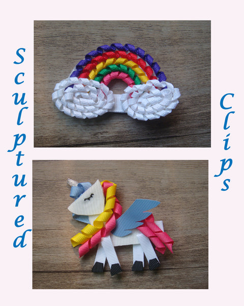 Sculptured 3.5in Clips - 2 options - Gabskia