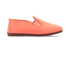 Javer/Flossy Canvas Shoes Adult - Coral