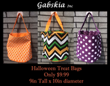 Halloween Treat Bags - Gabskia